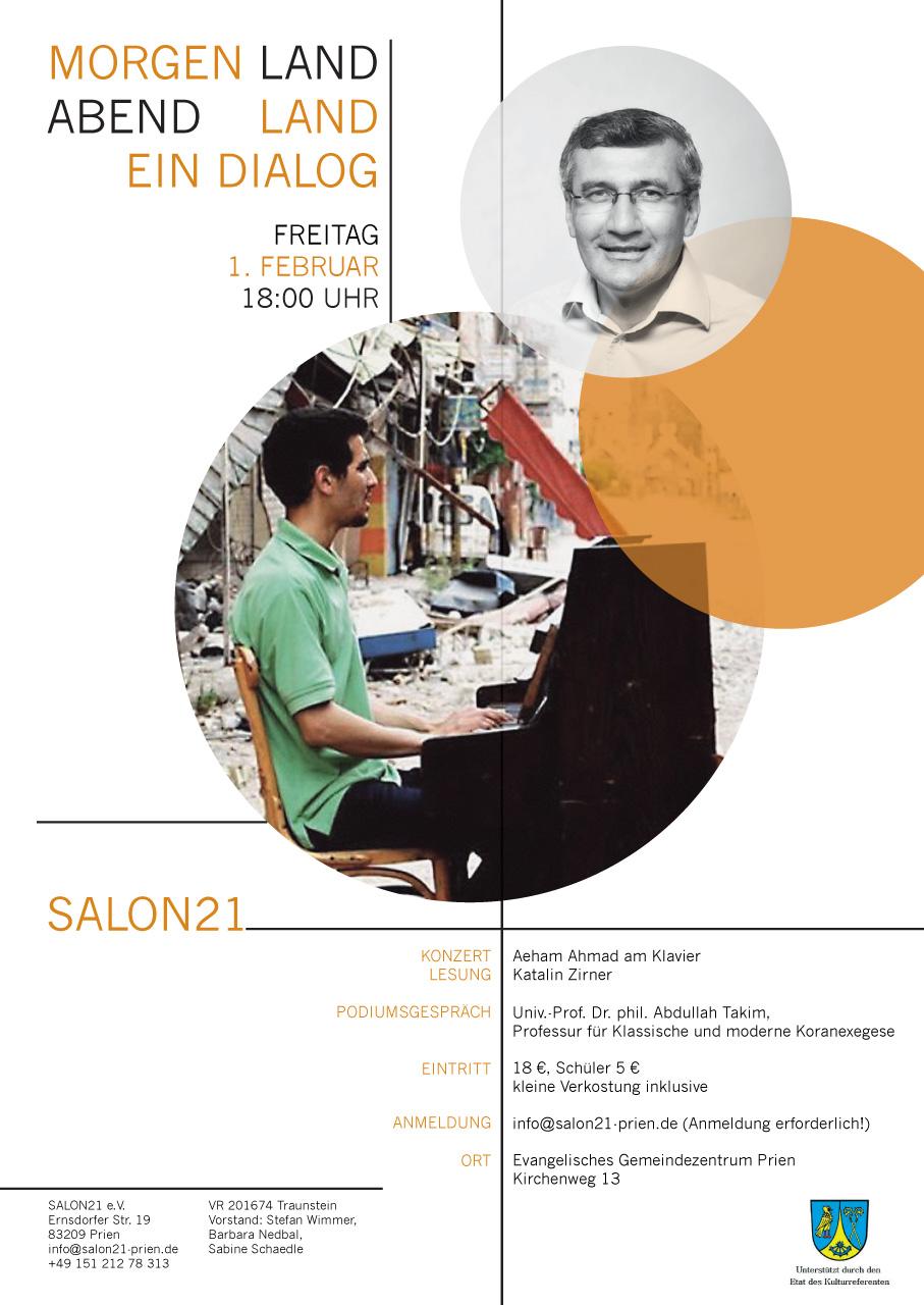 Ahmad - Zirner - Dialoge | Salon21 Prien