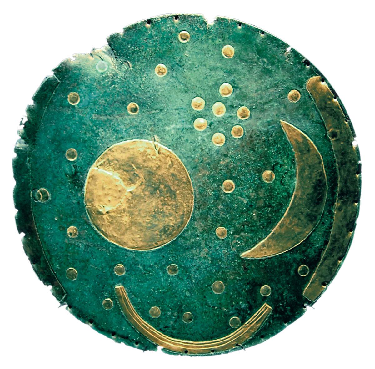 Die Himmelsscheibe von Nebra, ca. 4000 Jahre vor Christus | Bild von: Dbachmann