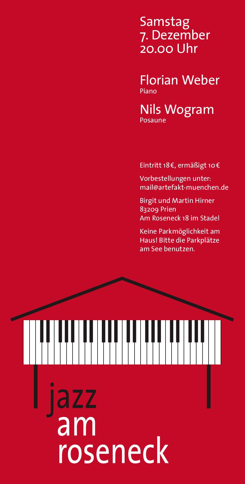 Konzert 3: Florian Weber | Salon21