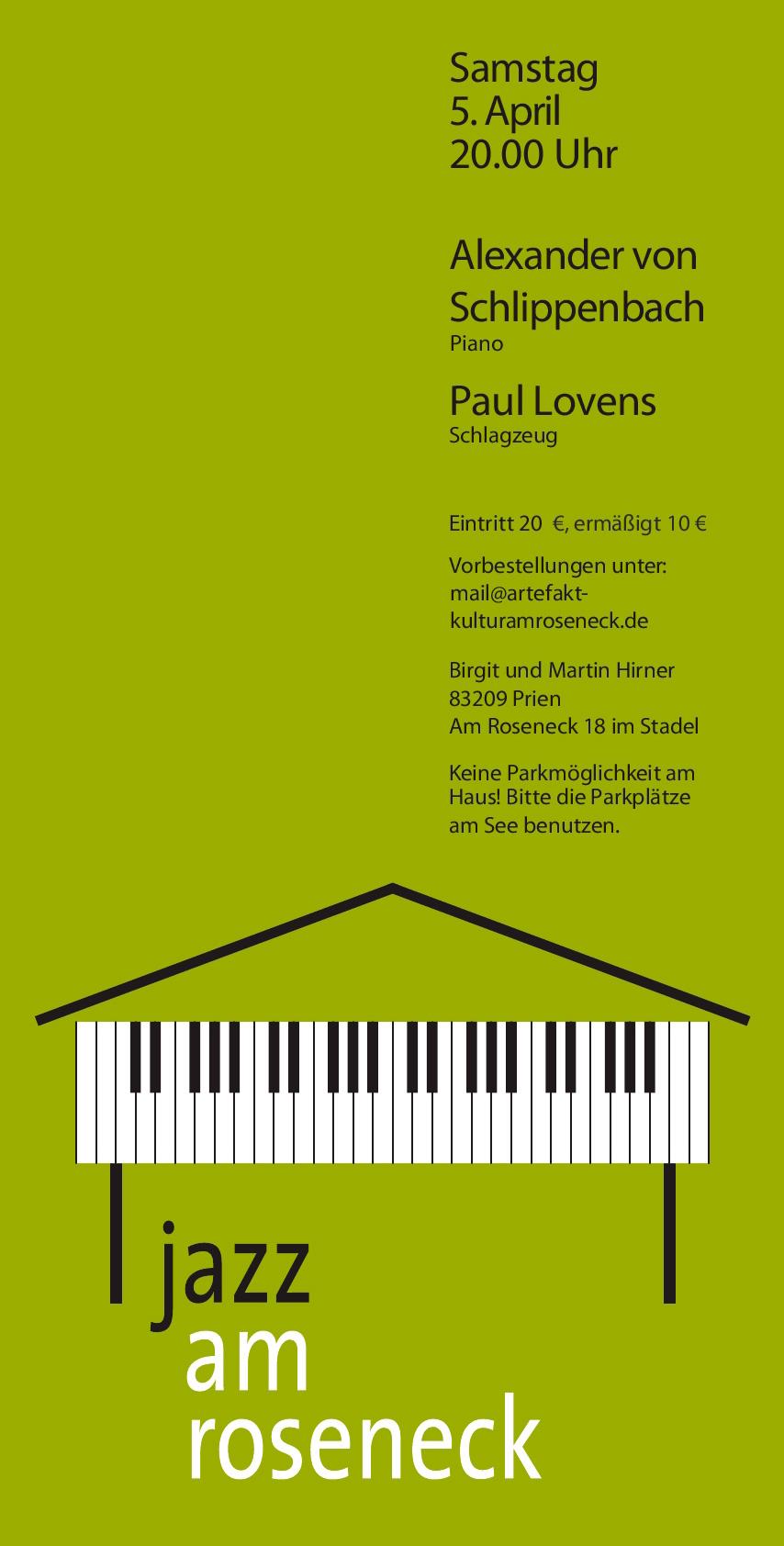 Konzert 4: Alexander von Schlippenbach | Salon21