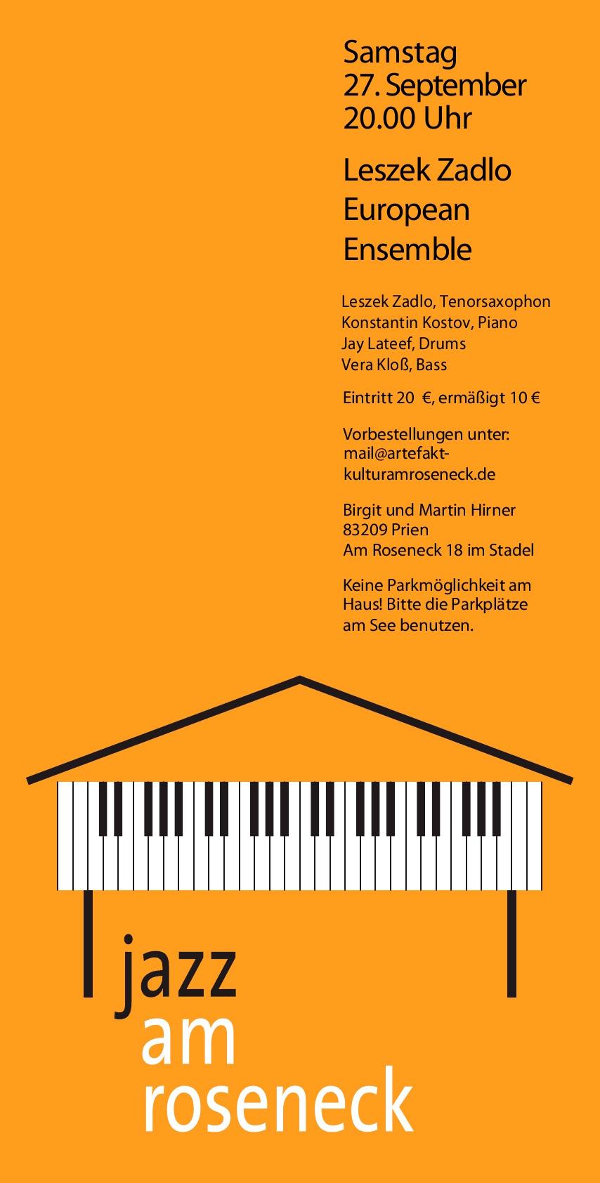 Konzert 6: Leszek Zadlo | Salon21