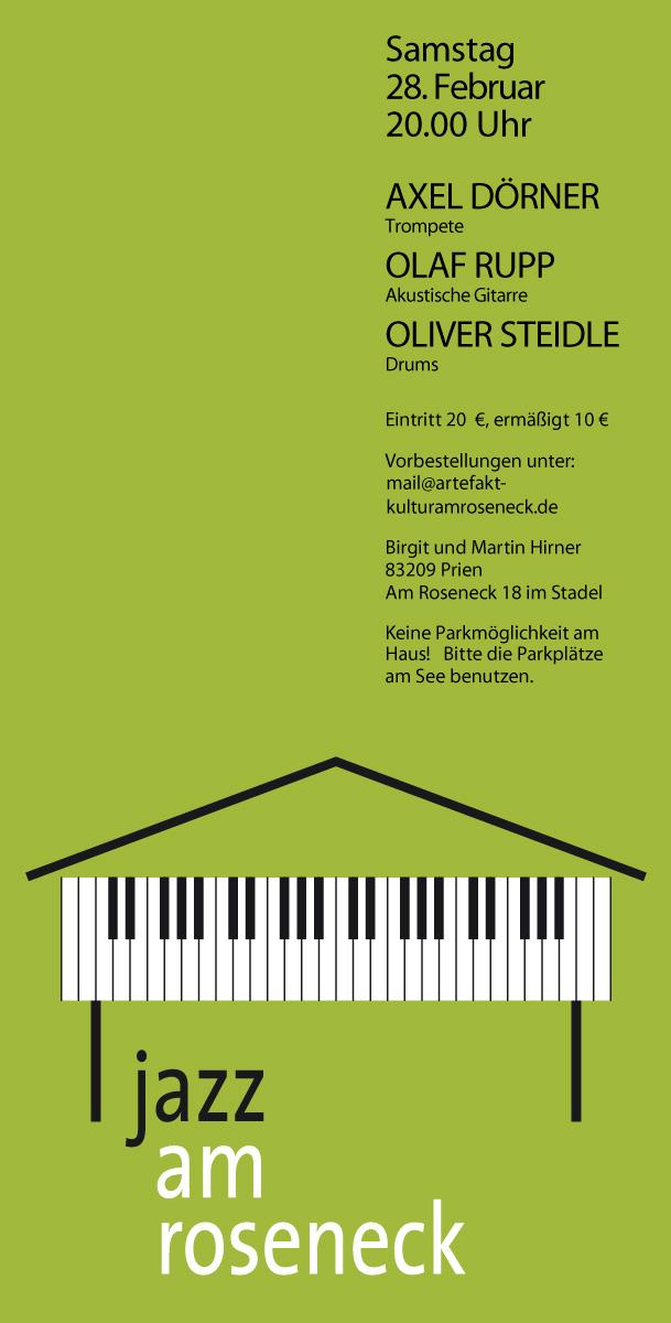 Konzert 08: Dörner - Rupp - Steidle | Salon21