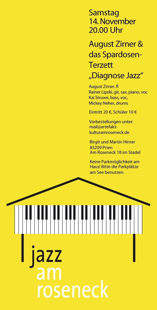 Konzert 12: August Zirner & das Spardosenterzett | Salon21