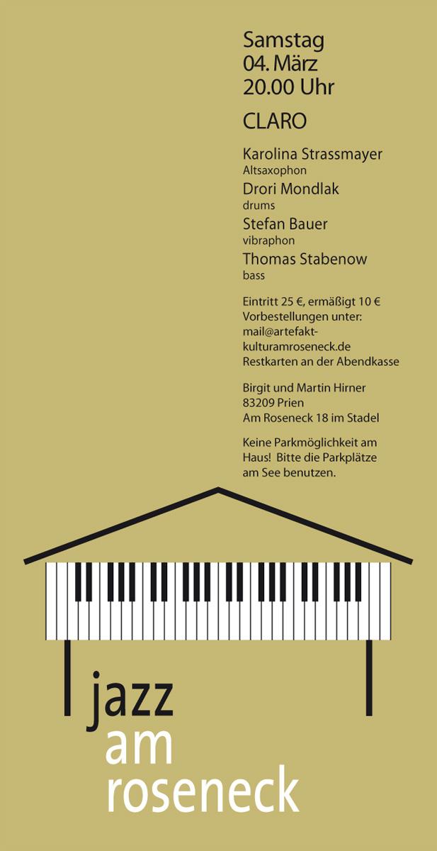 Konzert 23: CLARO!| Salon21
