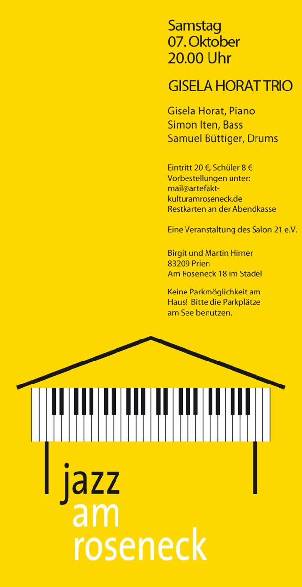 Konzert 26: Gisela Horat Trio | Salon21